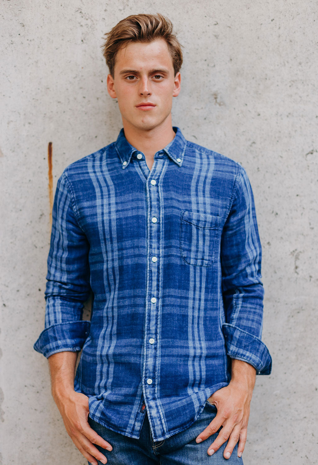Faherty Doublecloth Pacific Shirt
