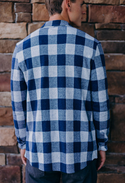 Faherty Sweater Shirt - RUST & Co.