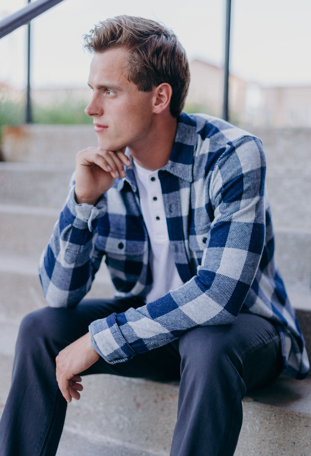 Faherty Sweater Shirt