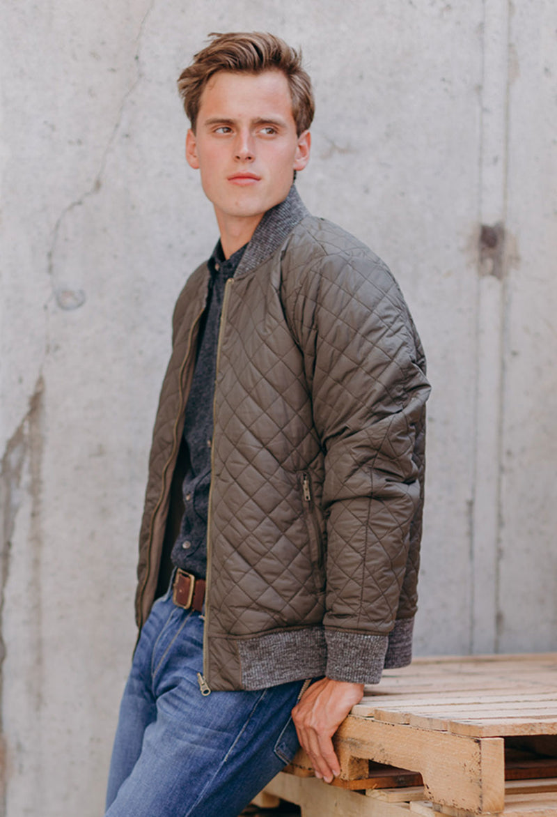 Faherty Reversible Surplus Bomber