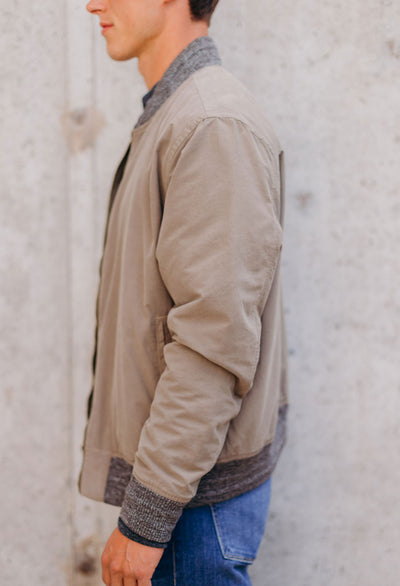 Faherty Reversible Surplus Bomber - RUST & Co.