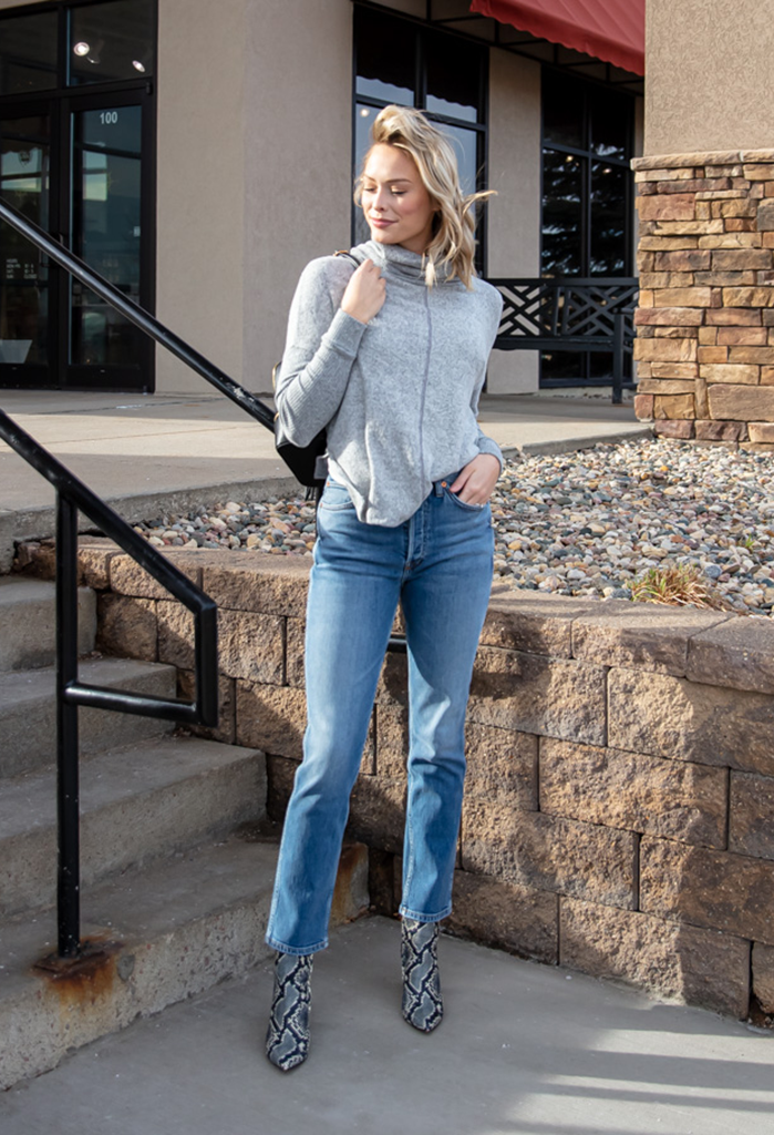 Cowl Neck Cozy Knit Top