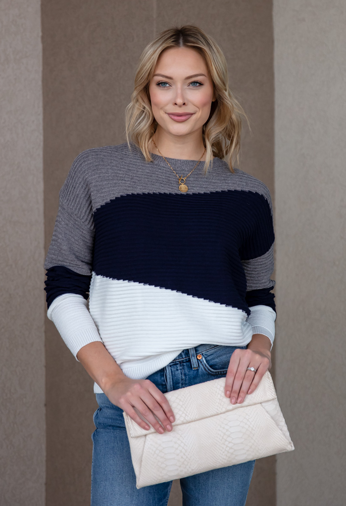 Quinn Crew Neck Sweater