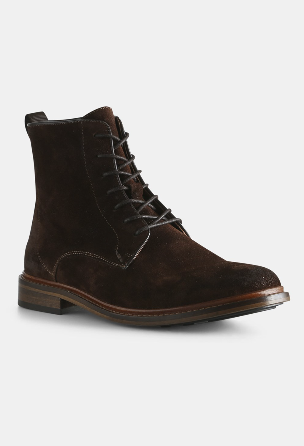 Ned Brown Suede Boot