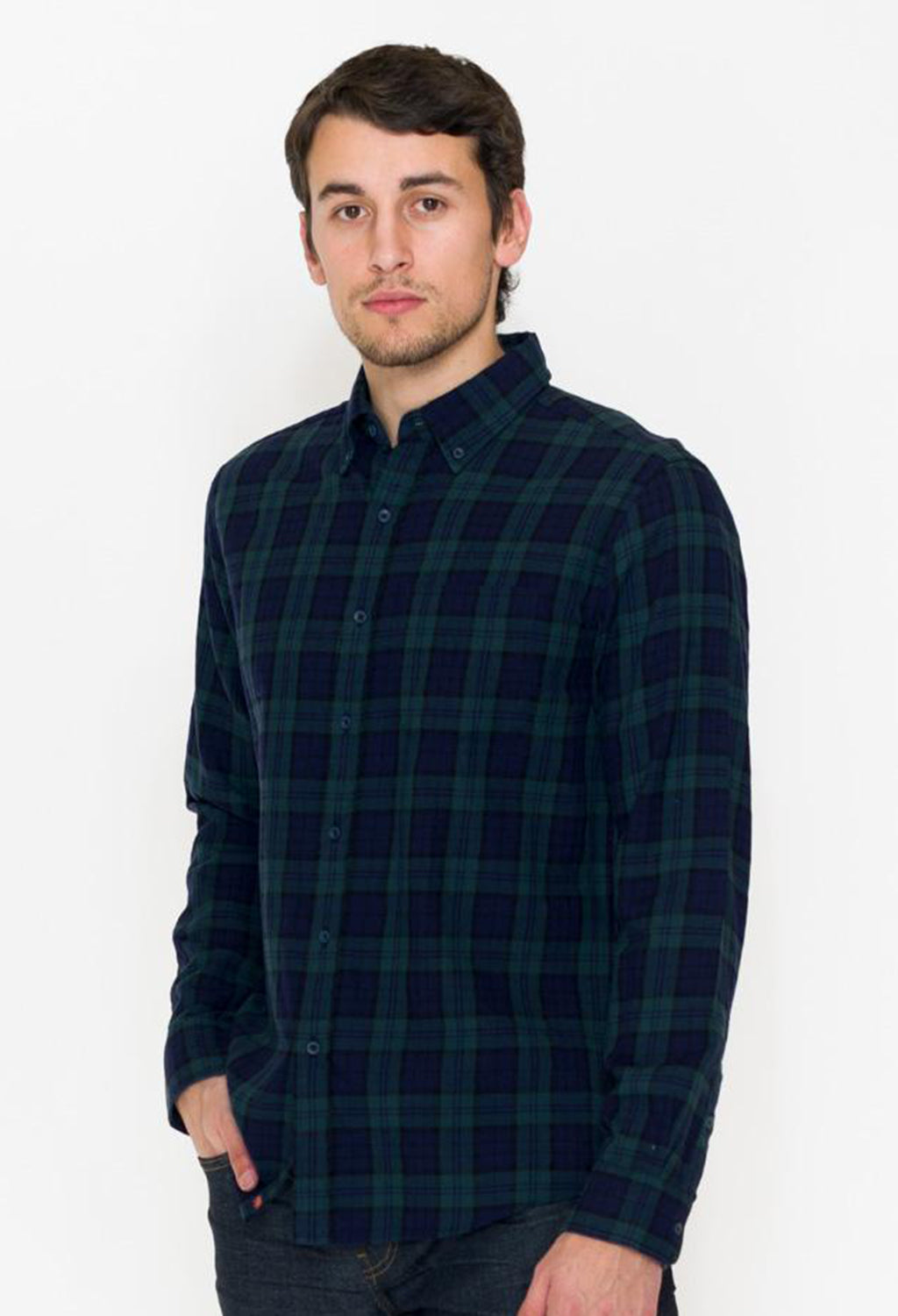 Normal Brand Christopher Lightweight Twill Plaid