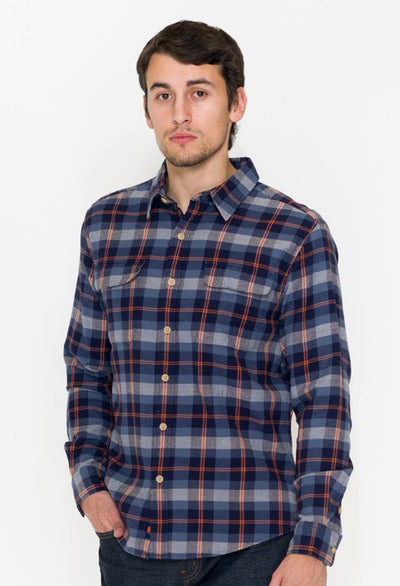 Normal Brand Conrad Plaid - RUST & Co.