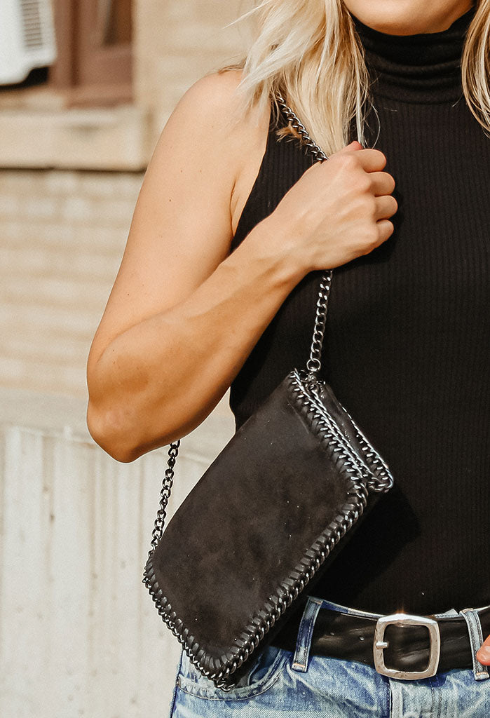Stella Convertible Chain Clutch