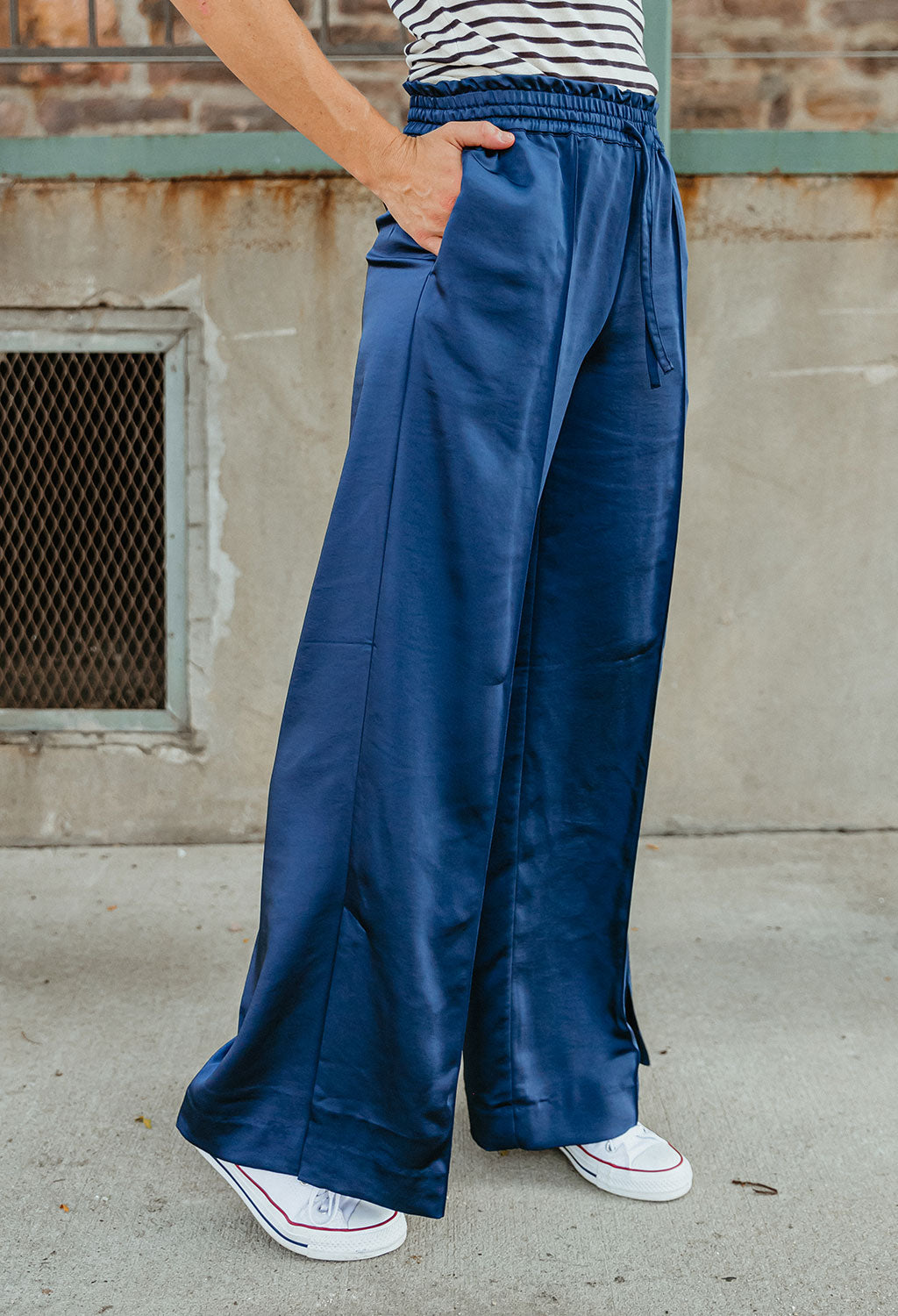 Scotch & Soda Joelle Wide Leg Pant