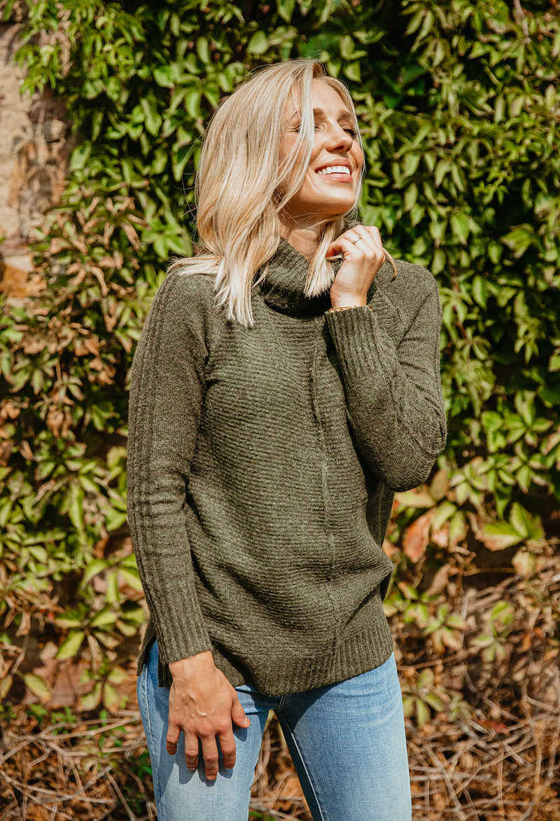 Marley Cowl Neck Sweater