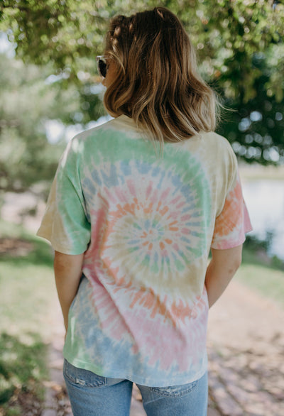 Led Zeppelin Icarus Tie-Dye Weekend Tee