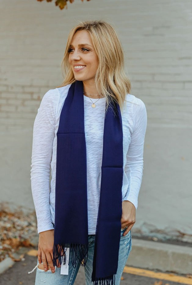 Brushed Solid Scarf