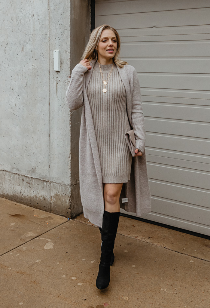 Cupcakes & Cashmere Tabitha Long Open Cardigan