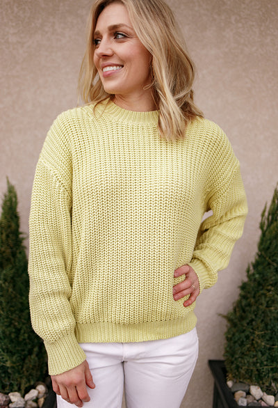 Brees Sweater, Pear