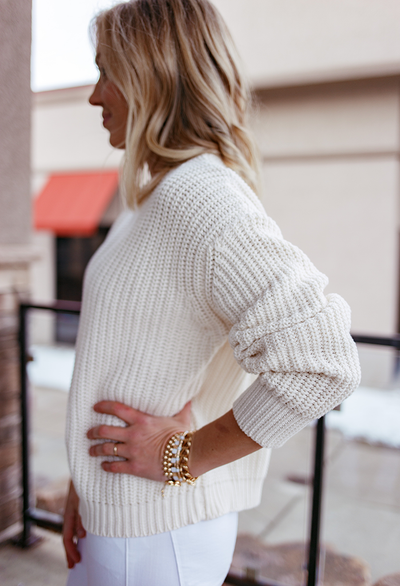 Brees Sweater, Natural
