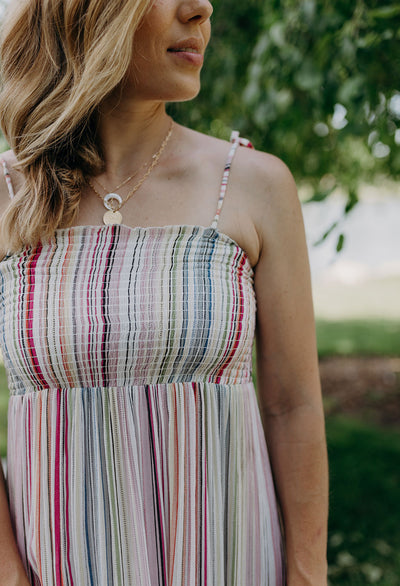 Casey Smocked Sun Dress