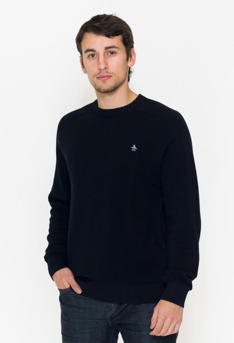 Penguin Honeycomb Pique Crew Sweater - RUST & Co.