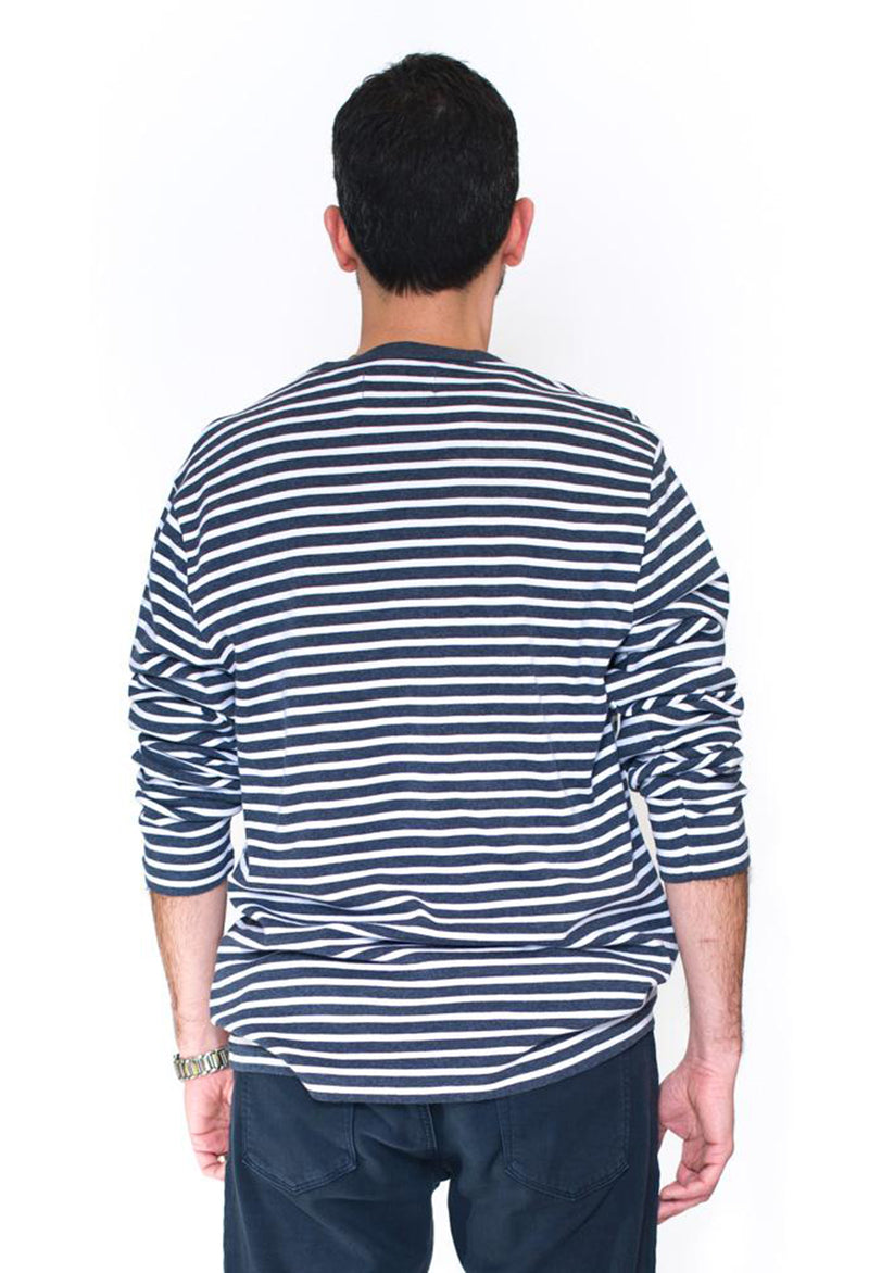 Penguin Striped Crew Pullover - RUST & Co.