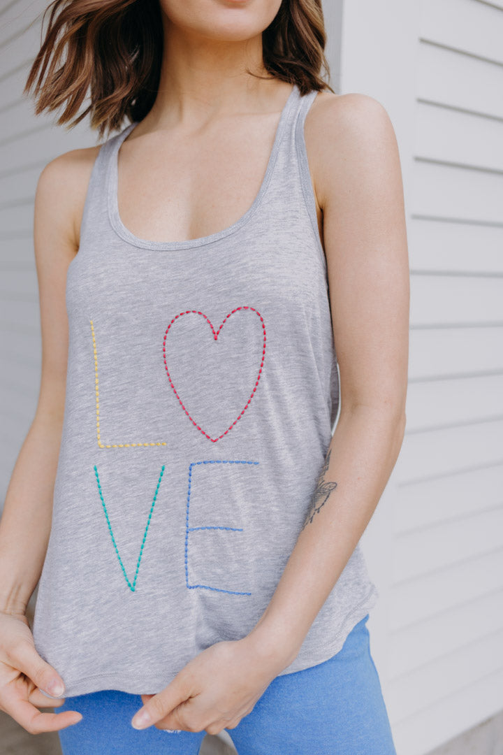 PJ Salvage Rainbow Love Tank