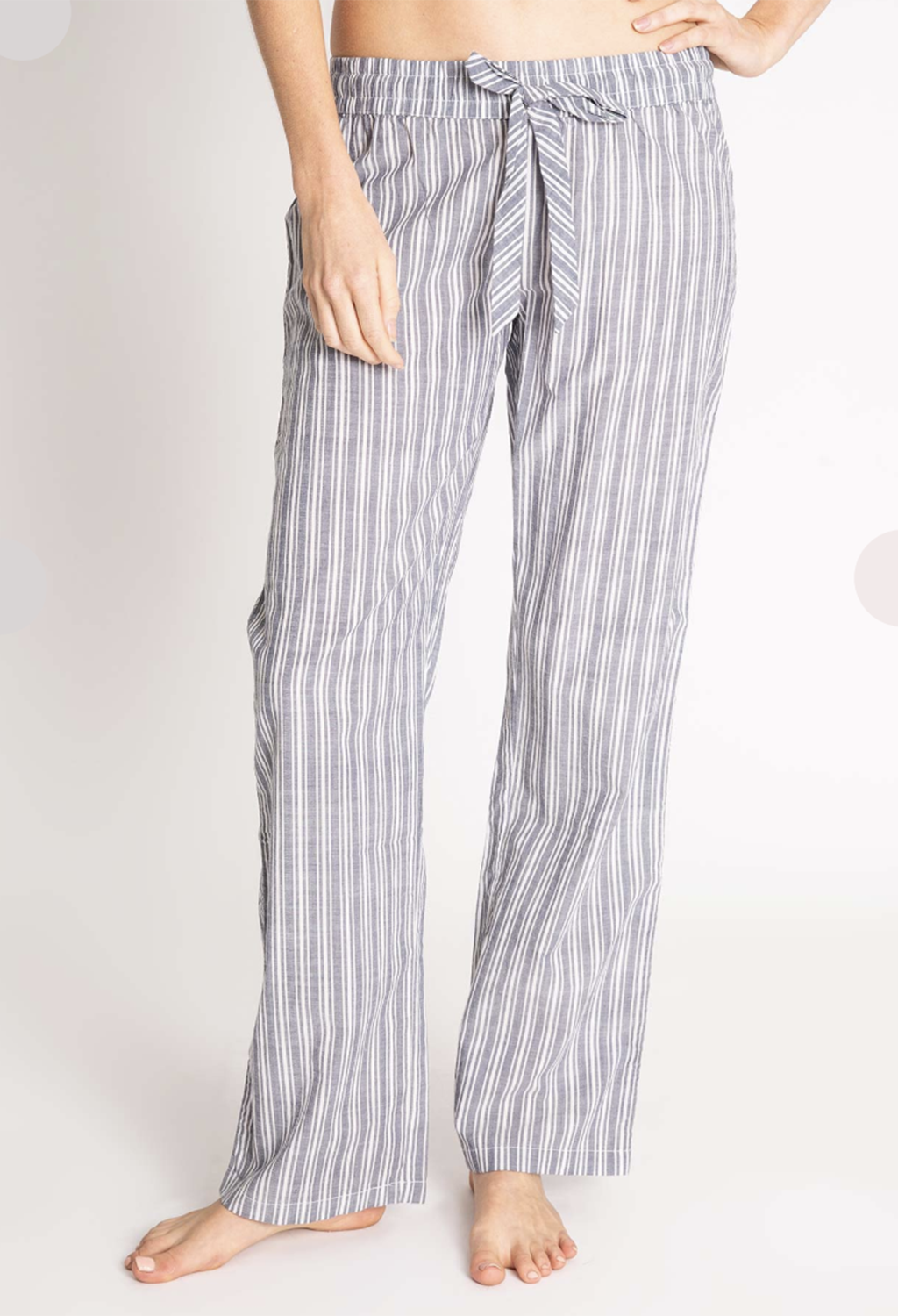 PJ Salvage Cotton Voile Striped Pant - RUST & Co.