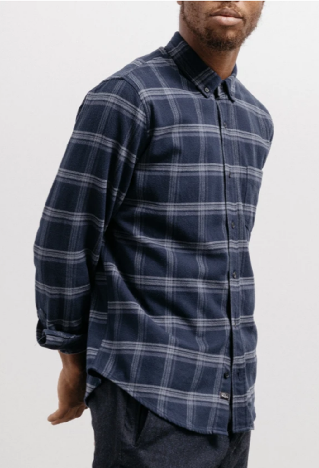 Rails Forrest Plaid Shirt, Navy - RUST & Co.