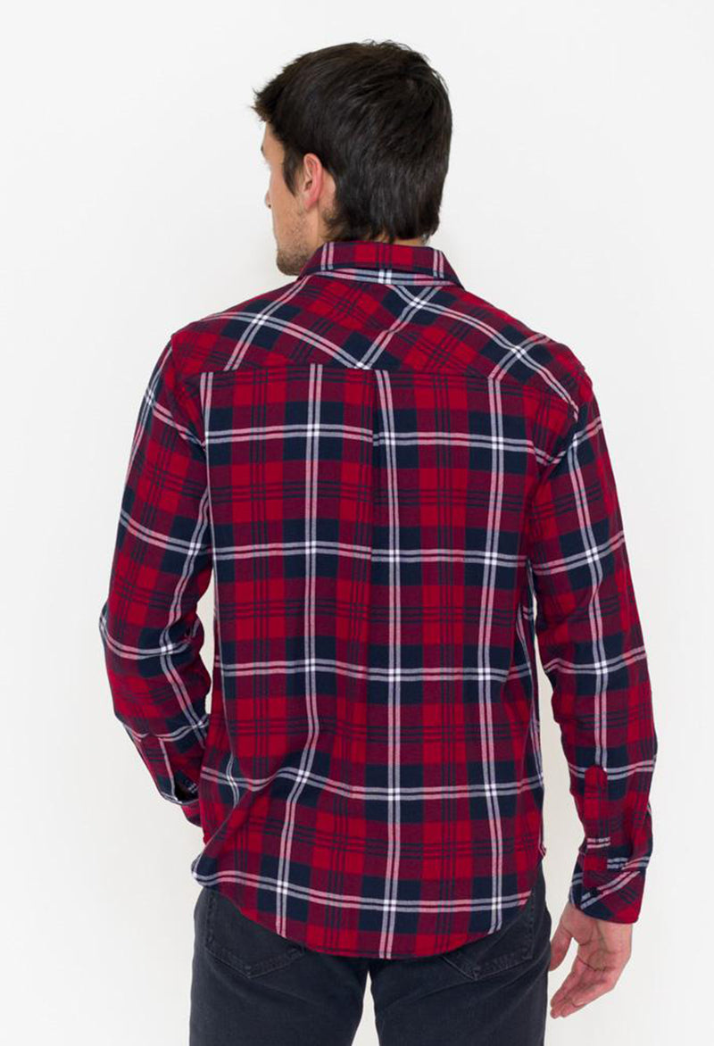 Rails Lennox Plaid Shirt, Red - RUST & Co.