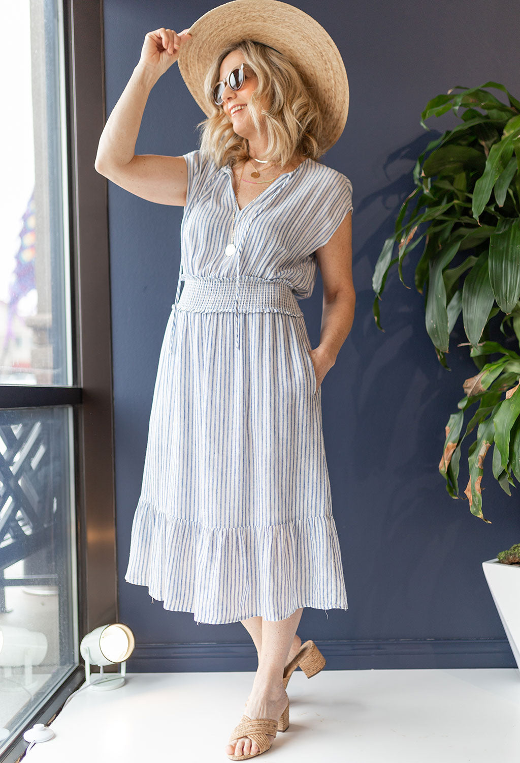 Rails Ashlyn Fremont Stripe Dress - RUST & Co.