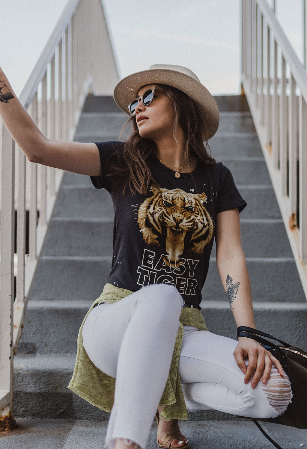 Chaser Easy Tiger T-shirt - RUST & Co.
