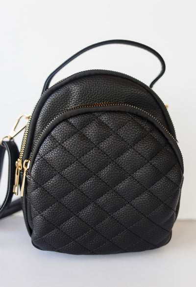 Izzie Quilted Mini Back Pack