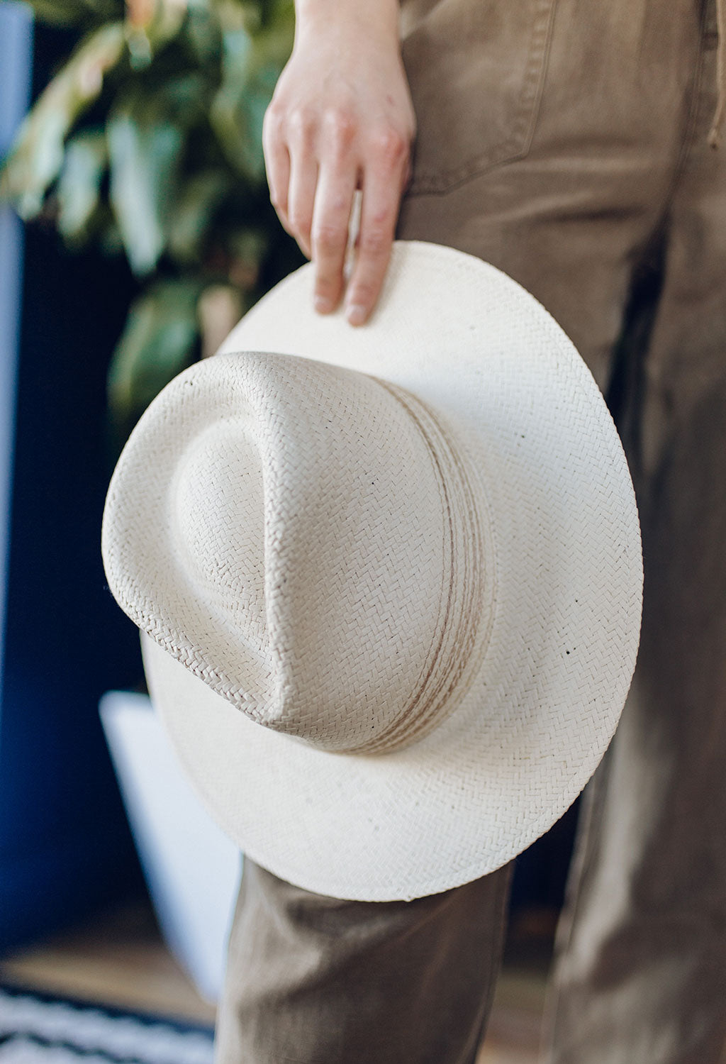 Rag & Bone Packable Straw Hat