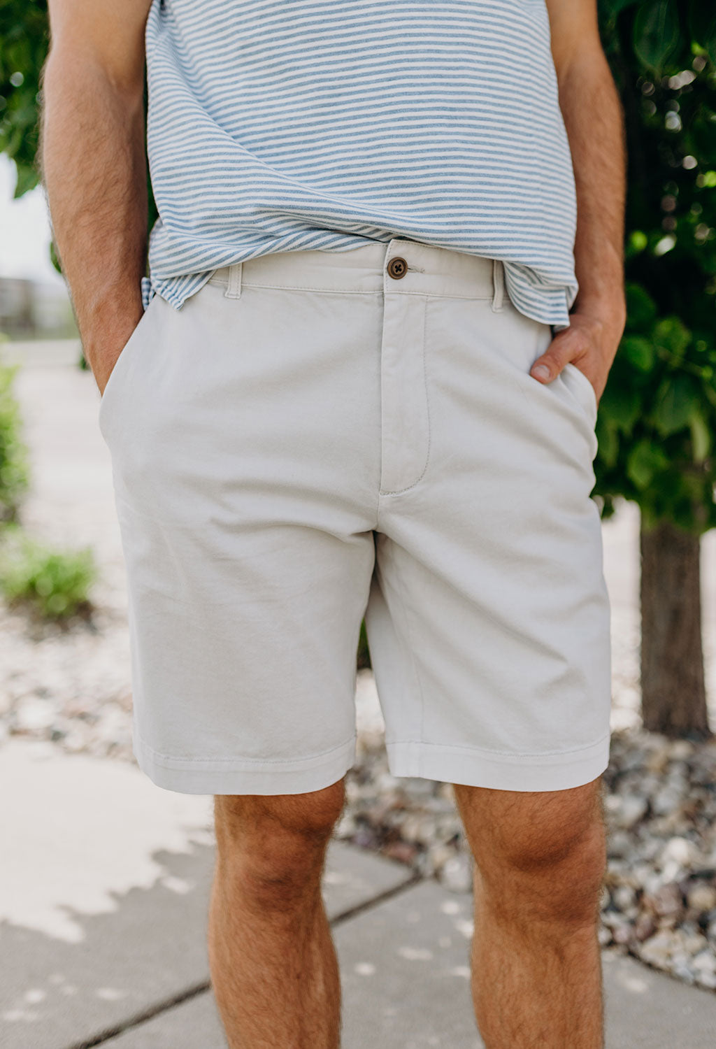 Faherty Khaki Shorts