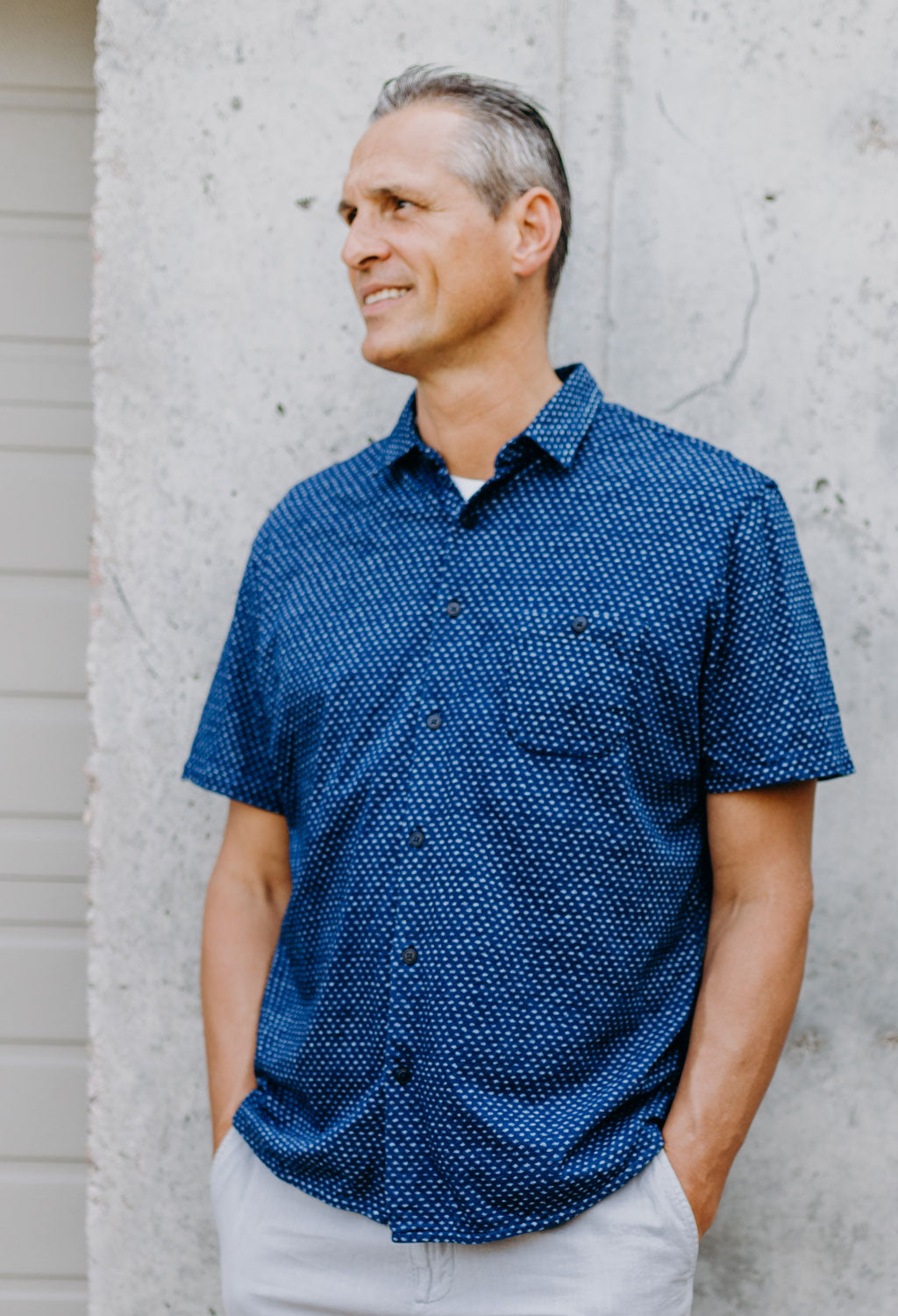 Faherty SS Knit Coast Shirt