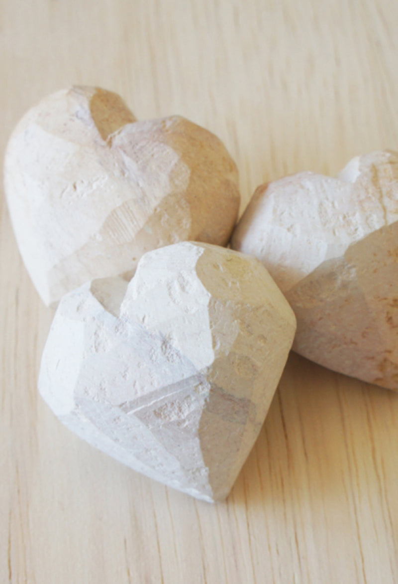 "Natural Stone ""Work in Progress"" Heart"
