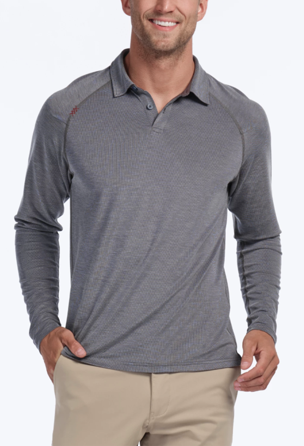 Rhone Delta Long Sleeve Polo