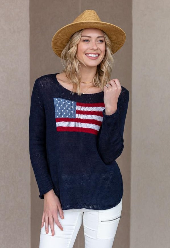 PRE-ORDER All American Crew Neck Sweater