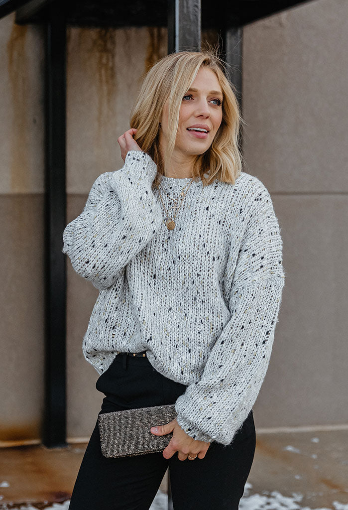 Chelsea Speckled Sweater