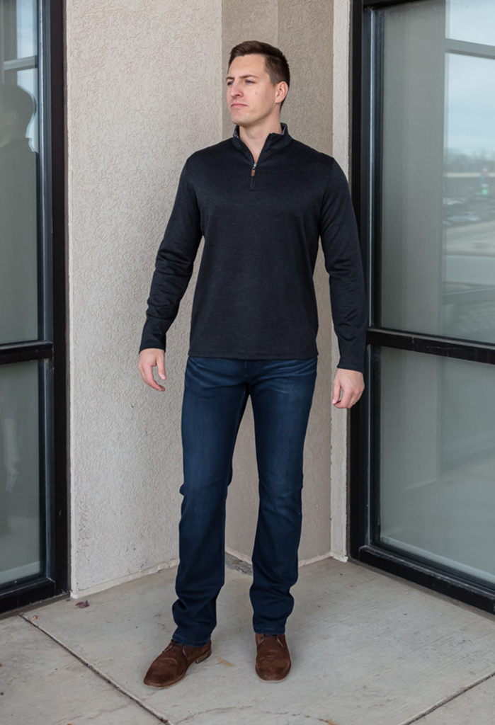 Mizzen + Main North 1/4 Zip Pullover