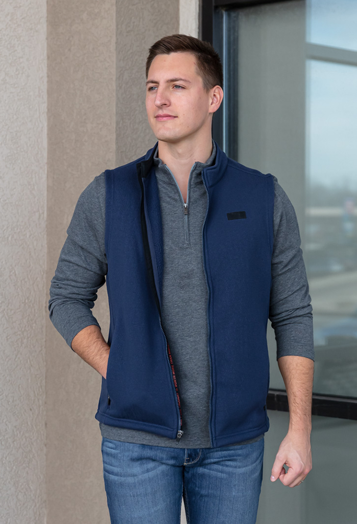 Rhone Bonded Fleece Vest