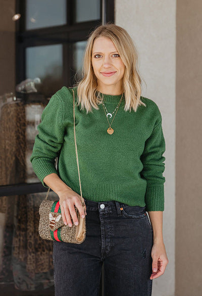 Avery Crew Neck Sweater