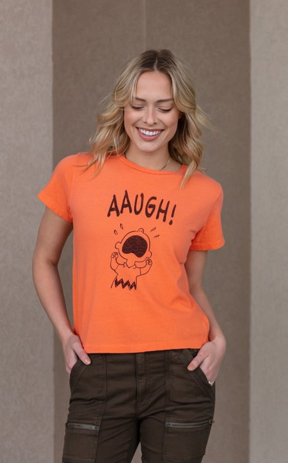 RE/DONE Charlie Brown AAUGH Tee
