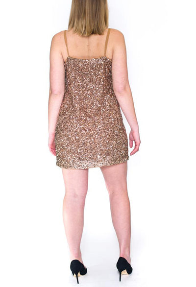 Scarlett Sequin Tank Dress - RUST & Co.