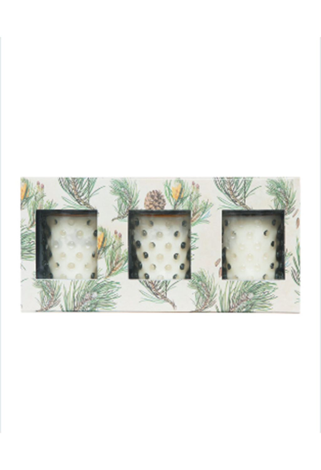 Scotch Pine Votive Set