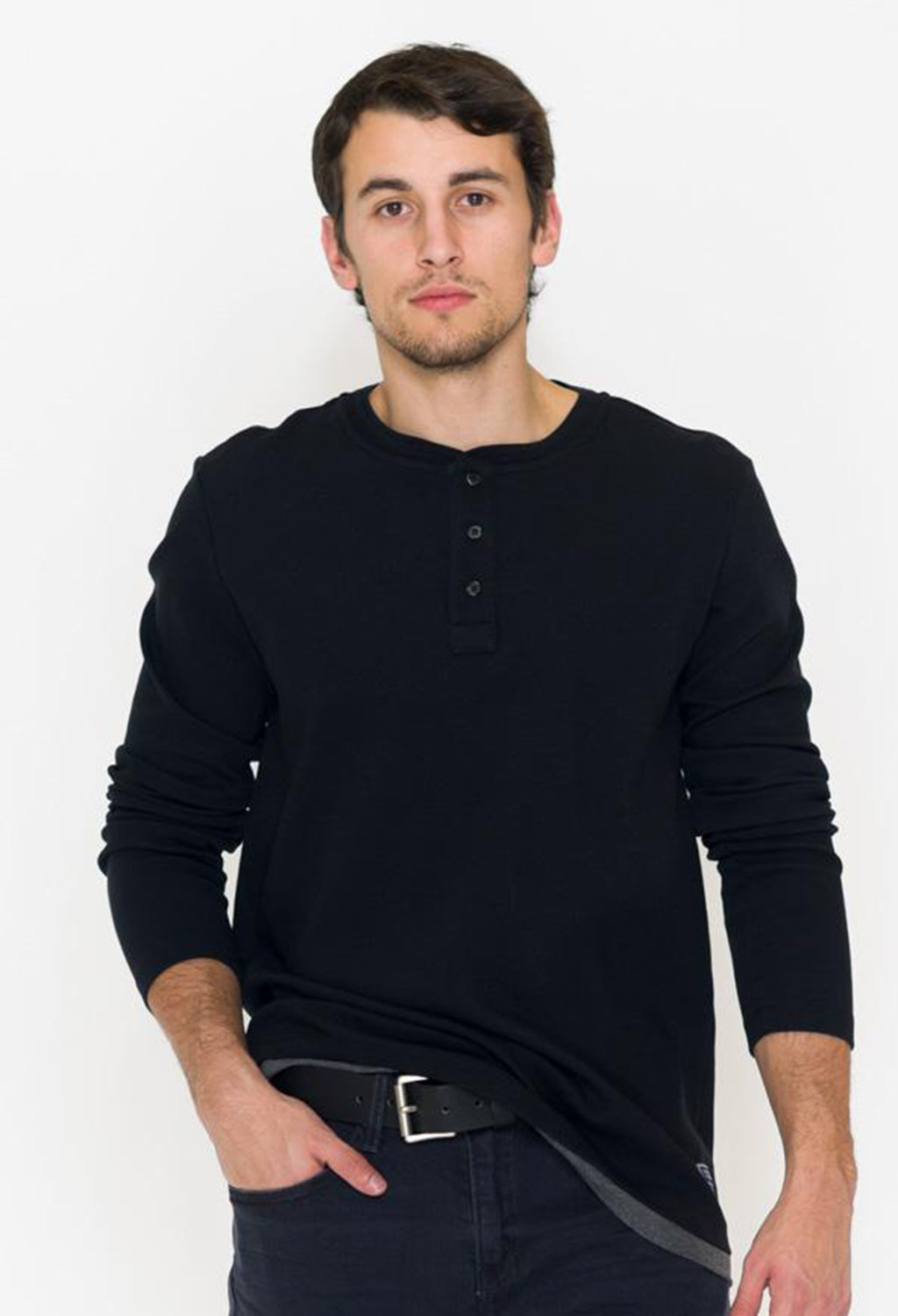 Scotch & Soda Grandad Henley Thermal