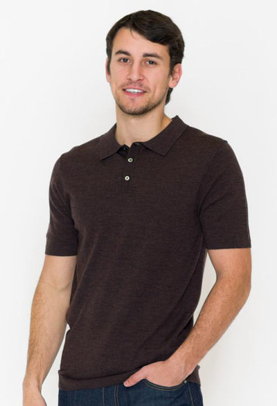 Short Sleeve Sweater Polo