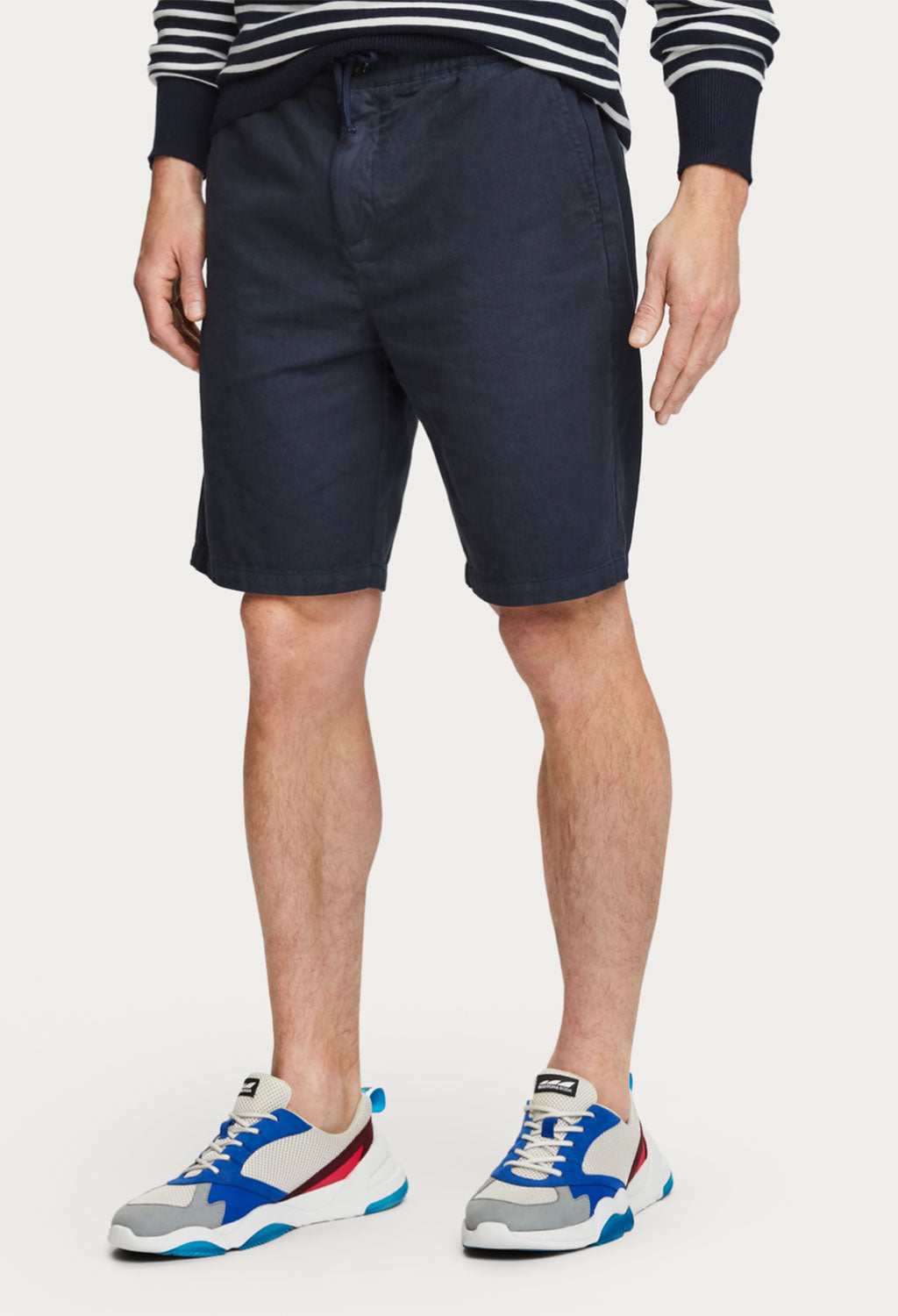 Scotch & Soda Relaxed Linen Blend Shorts