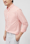 Bonobos Light Weight Cantaloupe Plaid - RUST & Co.