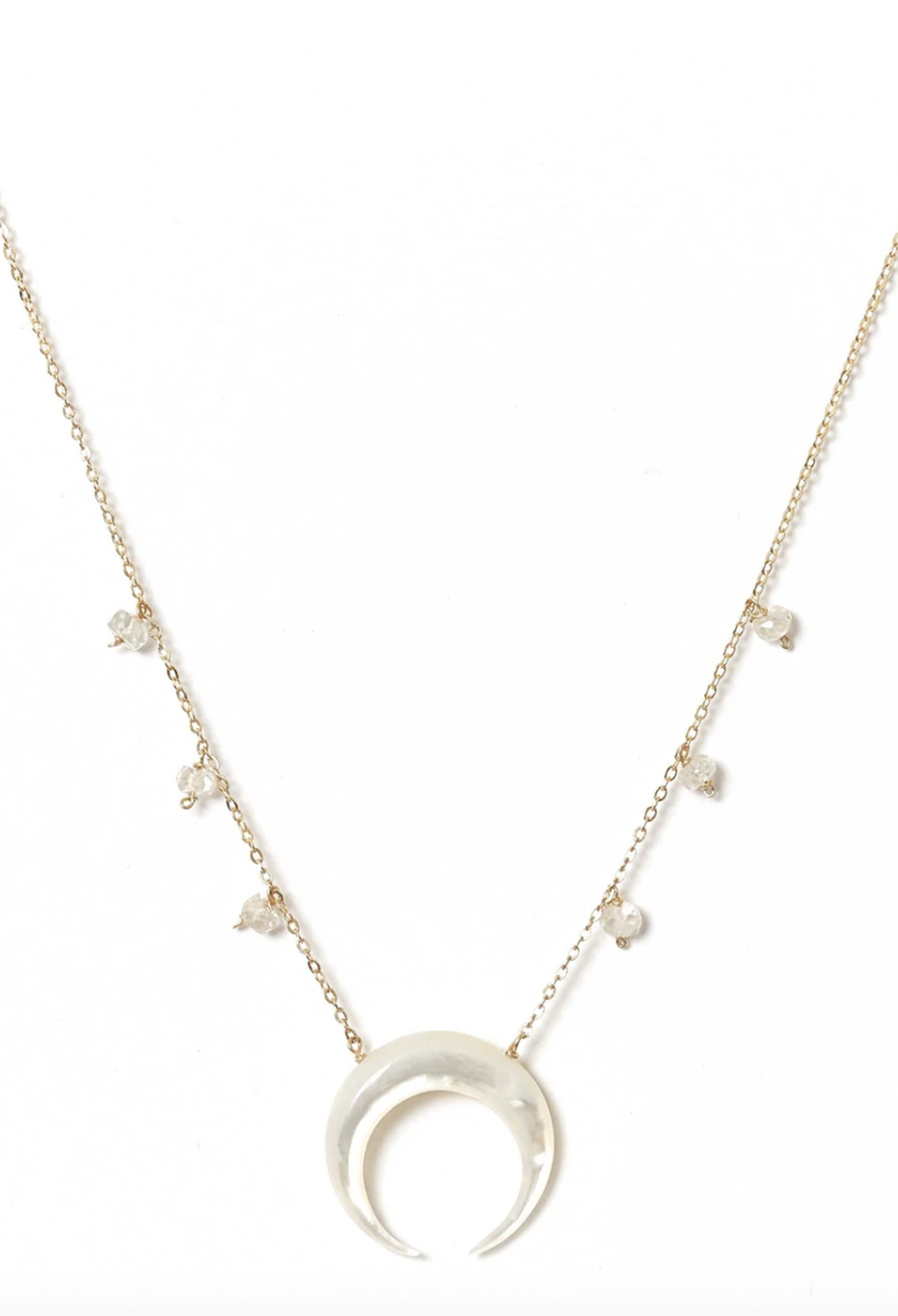 Milly Moon Necklace 16""