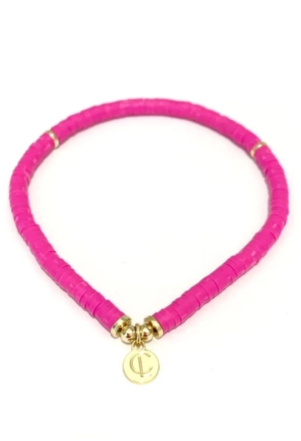 CL Seaside Pink Disc Bracelet