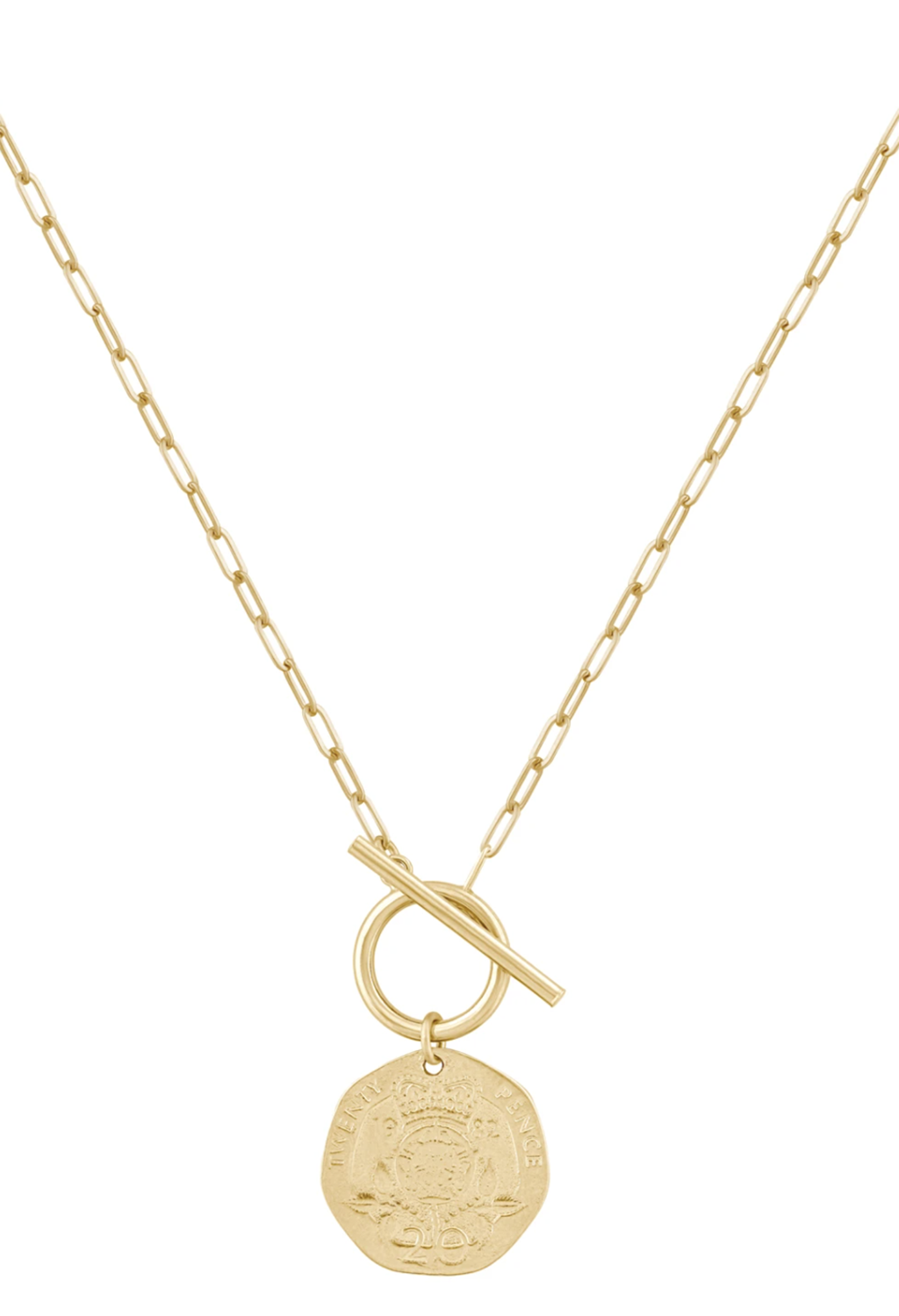 PRE-ORDER Elizabeth Coin Necklace 17""