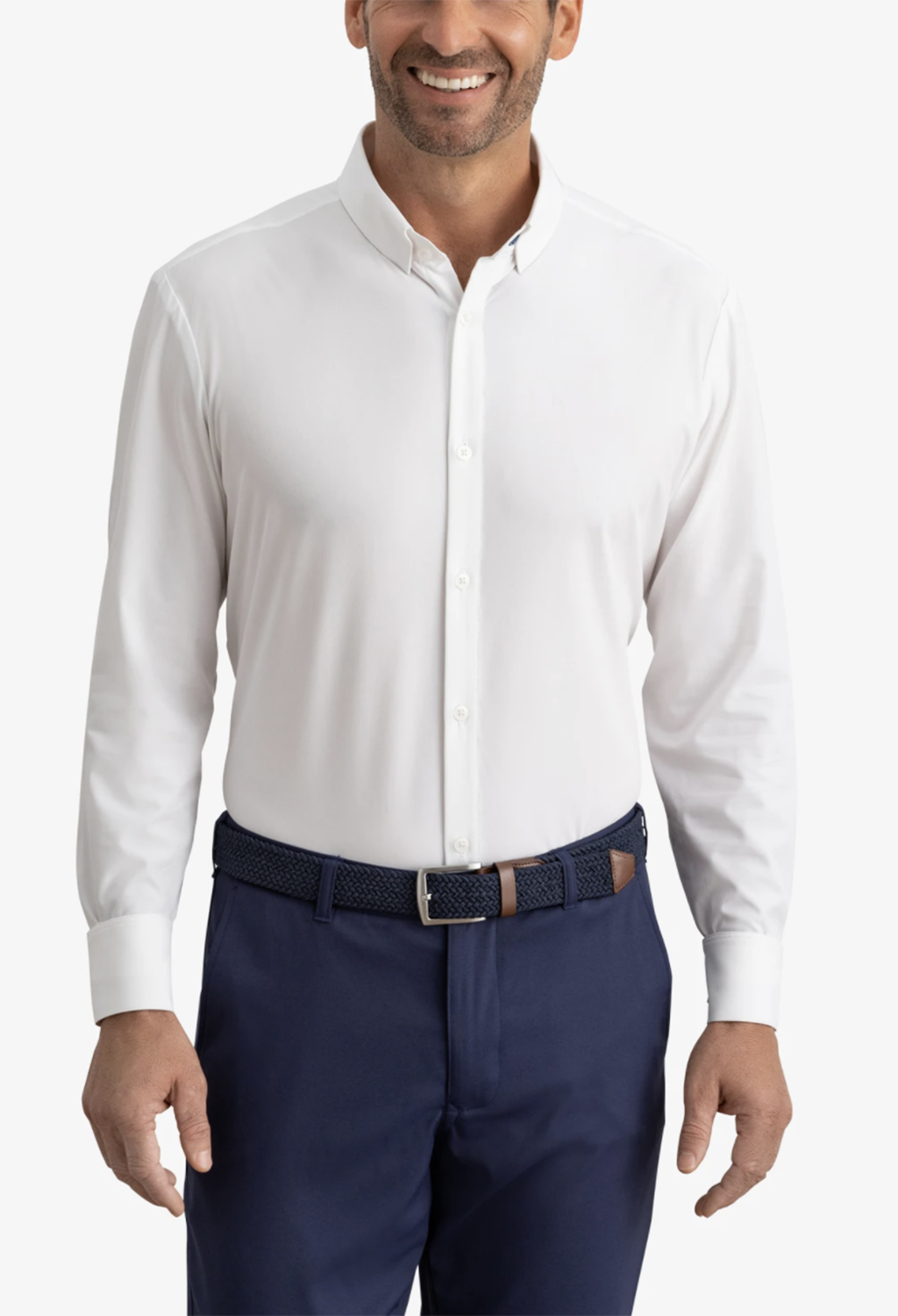 Mizzen + Main Leeward Shirt, White