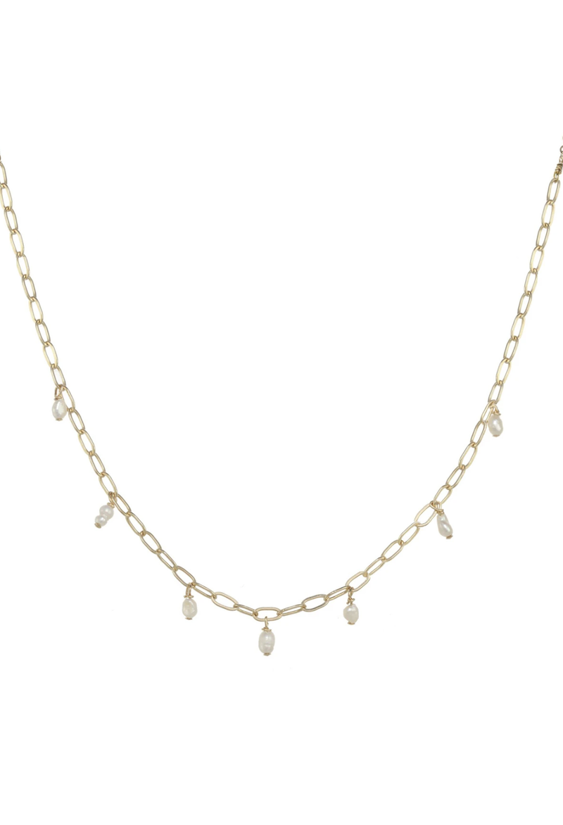 Shauna Rice Pearl Necklace